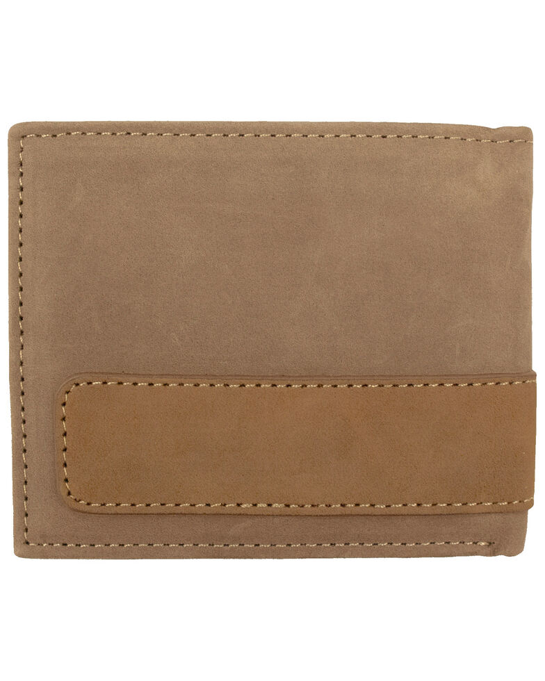 Carhartt Men's Two-Tone Billfold Wallet, Brown, hi-res