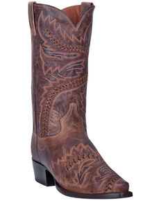 Dan Post Men's Tuff Western Boots - Snip Toe, Sand, hi-res
