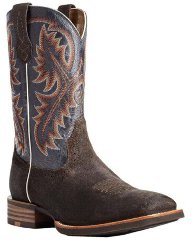 Ariat Men's Quickdraw Creek Western Boots - Square Toe, Brown, hi-res