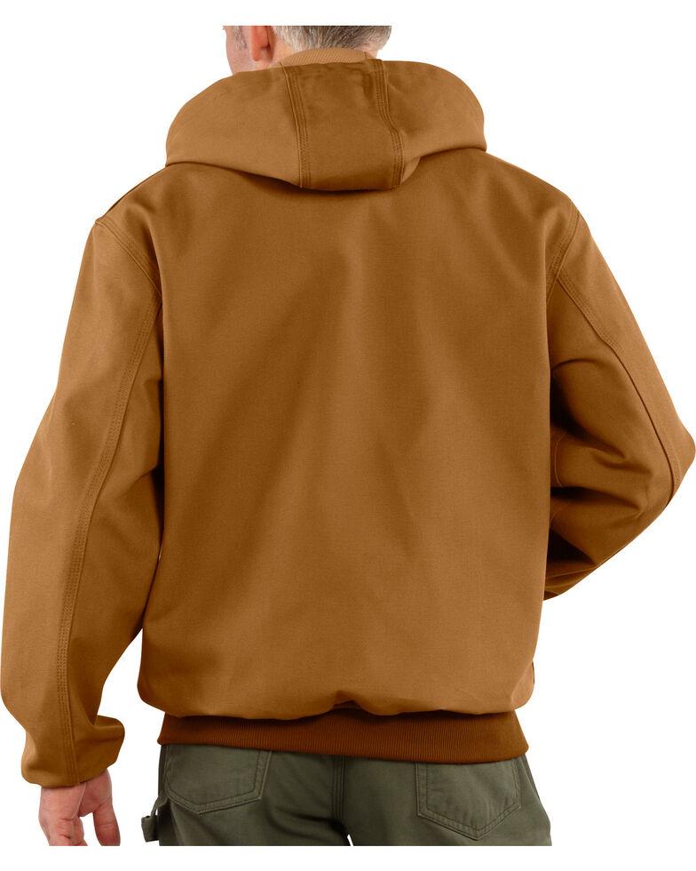 Carhartt Men's Brown Thermal Lined Duck Active Jacket , Brown, hi-res