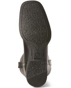 Ariat Women's Roper Western Boots - Wide Square Toe, Black, hi-res