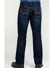 Cody James Men's FR Millikin Dark Slim Boot Work Jeans , Indigo, hi-res