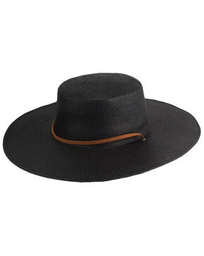 Peter Grimm Jocelyn Black Resort Hat, Black, hi-res