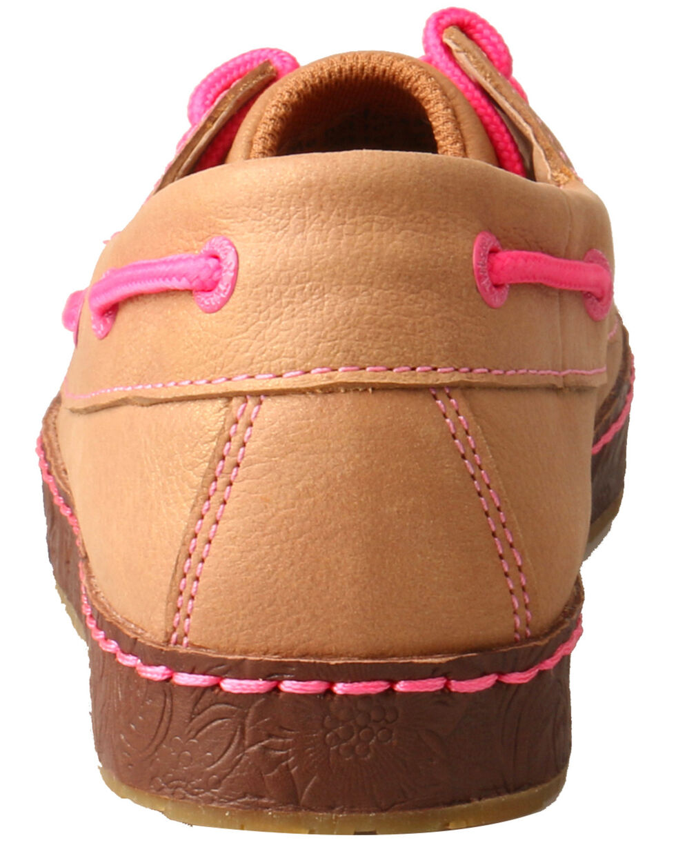 Twisted X Women's Western Sneakers - Moc Toe, Natural, hi-res