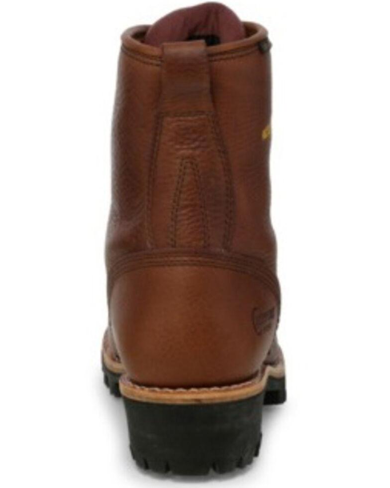 Chippewa Men's Waterproof Logger Work Boots, Briar, hi-res