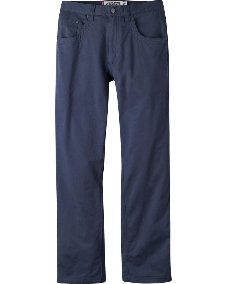 Mountain Khakis Men's Navy Camber Commuter Slim Pants , Navy, hi-res