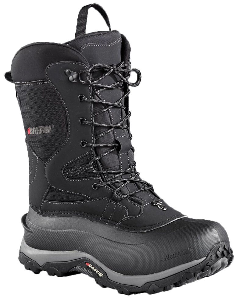 Baffin Men's Summit Ultra Light Outdoor Boots - Round Toe, Black, hi-res
