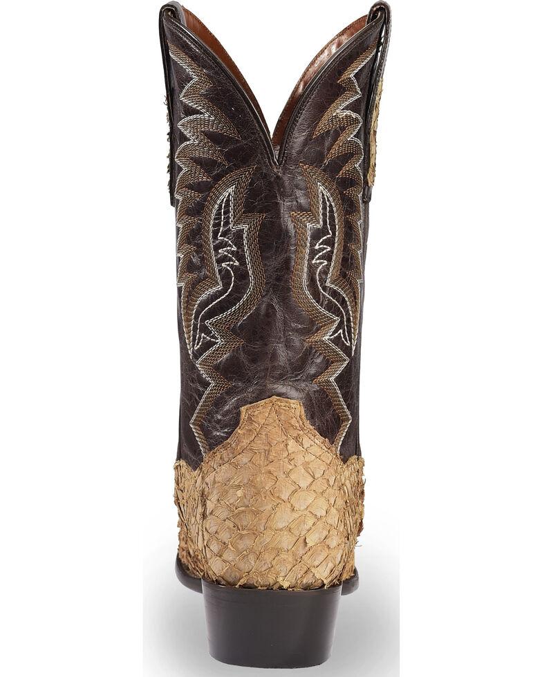 Dan Post Men's Sand Sea Bass Cowboy Boots - Medium Toe , Sand, hi-res