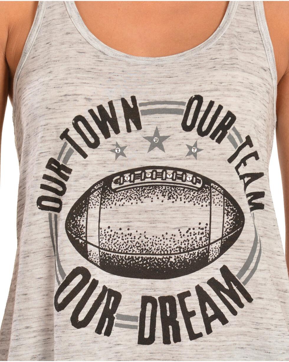 """ATX Mafia """"Our Town, Our Team, Our Dream"""" Tank, Grey, hi-res"""