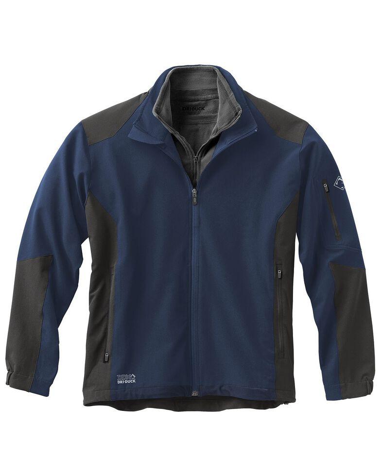 Dri Duck Men's Baseline Softshell Work Jacket, Dark Blue, hi-res