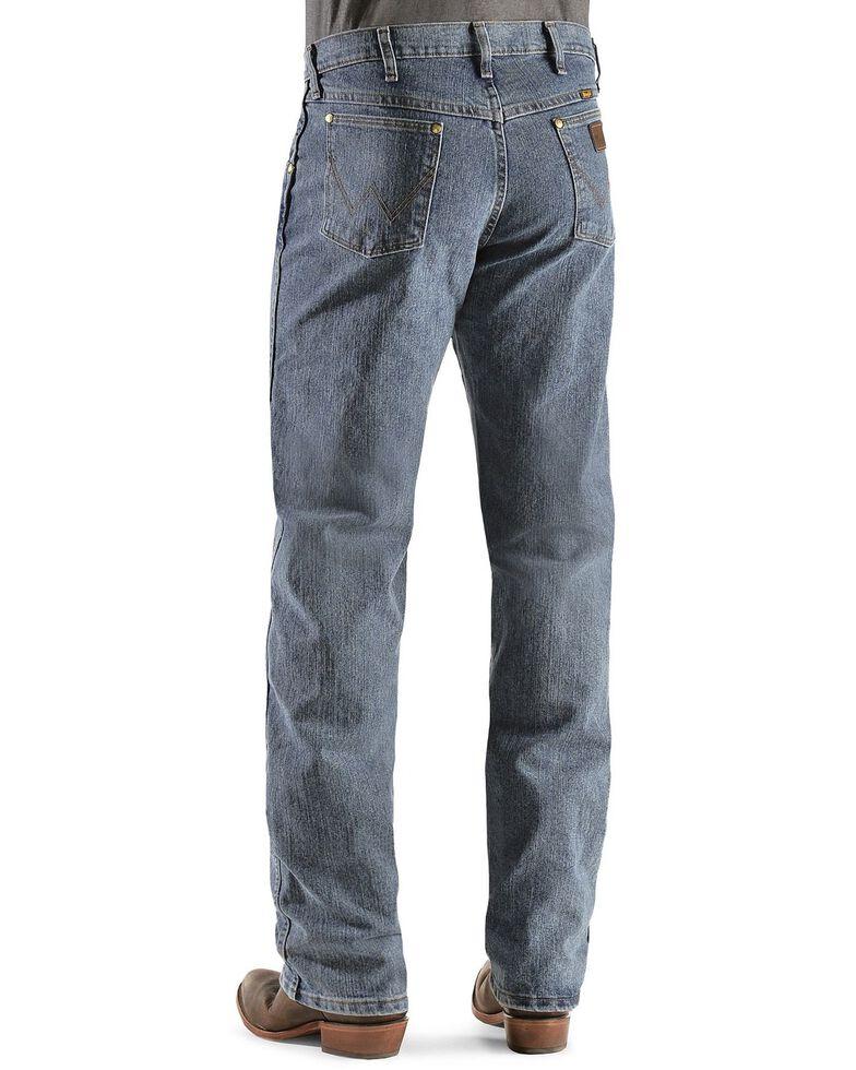 Wrangler Men's Premium Performance Advanced Comfort Jeans, Dark Denim, hi-res