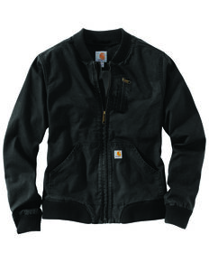 Carhartt Women's Crawford Bomber Jacket, Black, hi-res