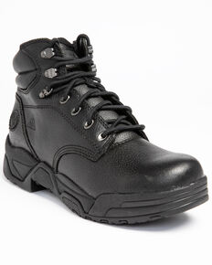 Hawx® Men's Enforcer Work Boots - Soft Toe, Black, hi-res