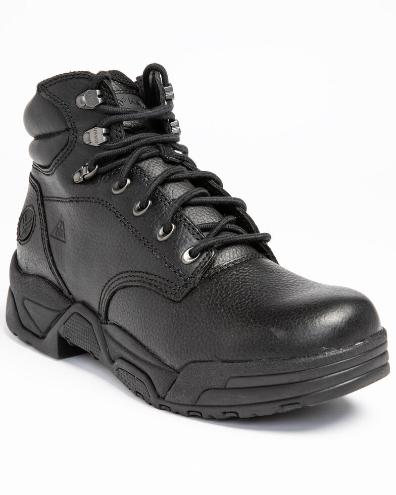 Hawx Men's Enforcer Work Boots - Soft Toe, Black, hi-res