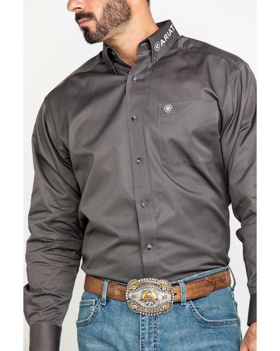 Ariat 10017497 Men/'s Black// White Team Logo Twill Button Down Long Sleeve Shirt