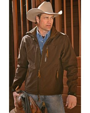 STS Ranchwear Men's Young Gun Jacket, Brown, hi-res