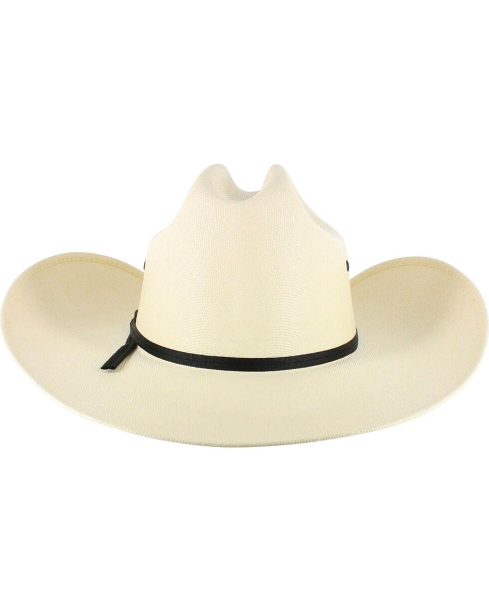 Cody James Boys' Elastic Fit Straw Cowboy Hat, Natural, hi-res