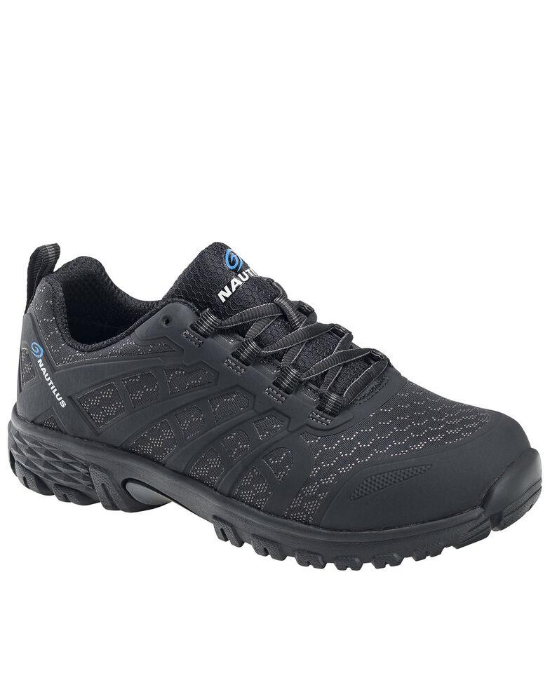 Nautilus Men's Stratus Work Shoes - Soft Toe, Black, hi-res