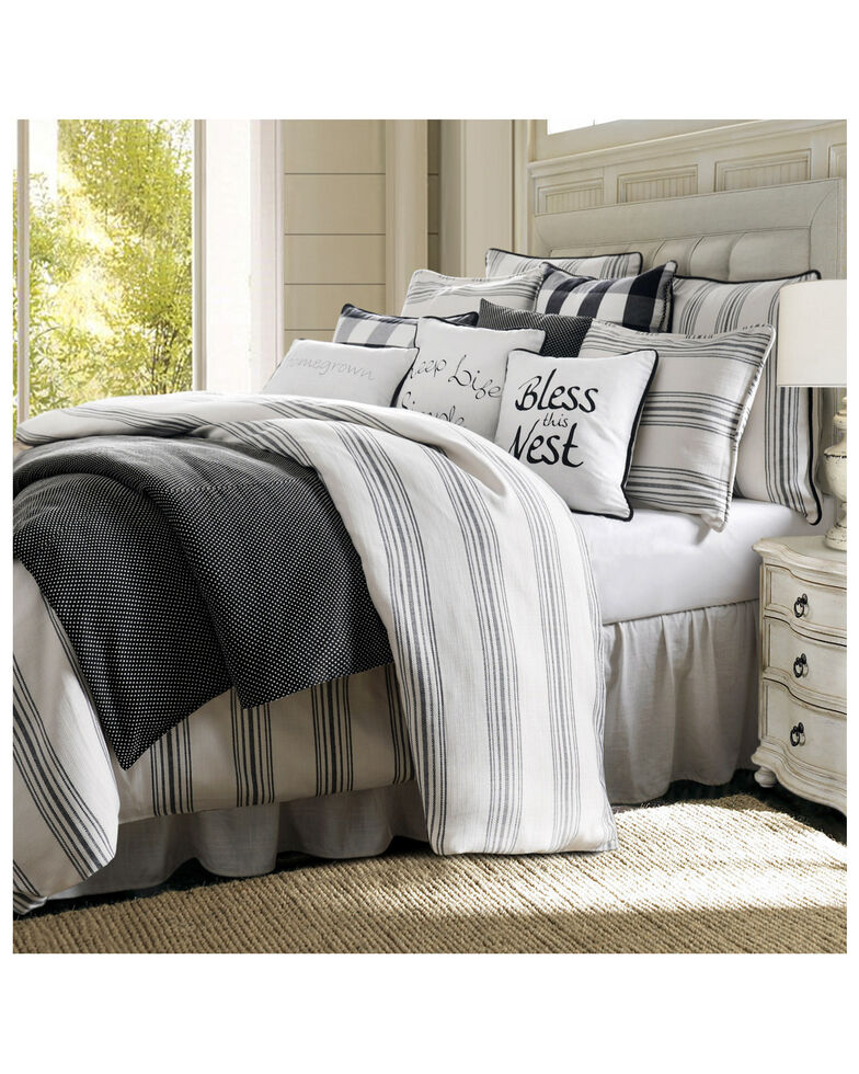 HiEnd Accents Super Queen Blackberry 3 Piece Comforter Set, Multi, hi-res