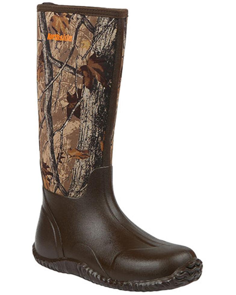 Northside Men's Shoshone Falls Waterproof Rubber Boots - Soft Toe, Camouflage, hi-res
