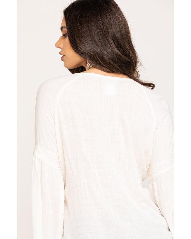 Ariat Women's Ivory Diana Top, Ivory, hi-res