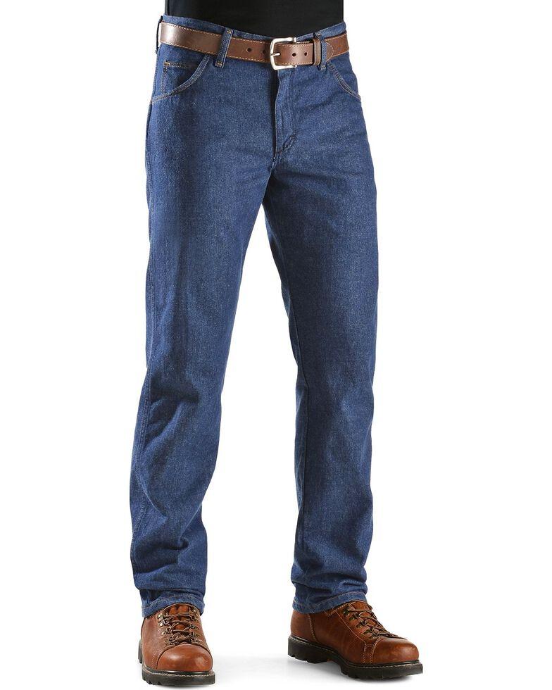 Wrangler Men's FR Lightweight Regular Fit Jeans, Denim, hi-res