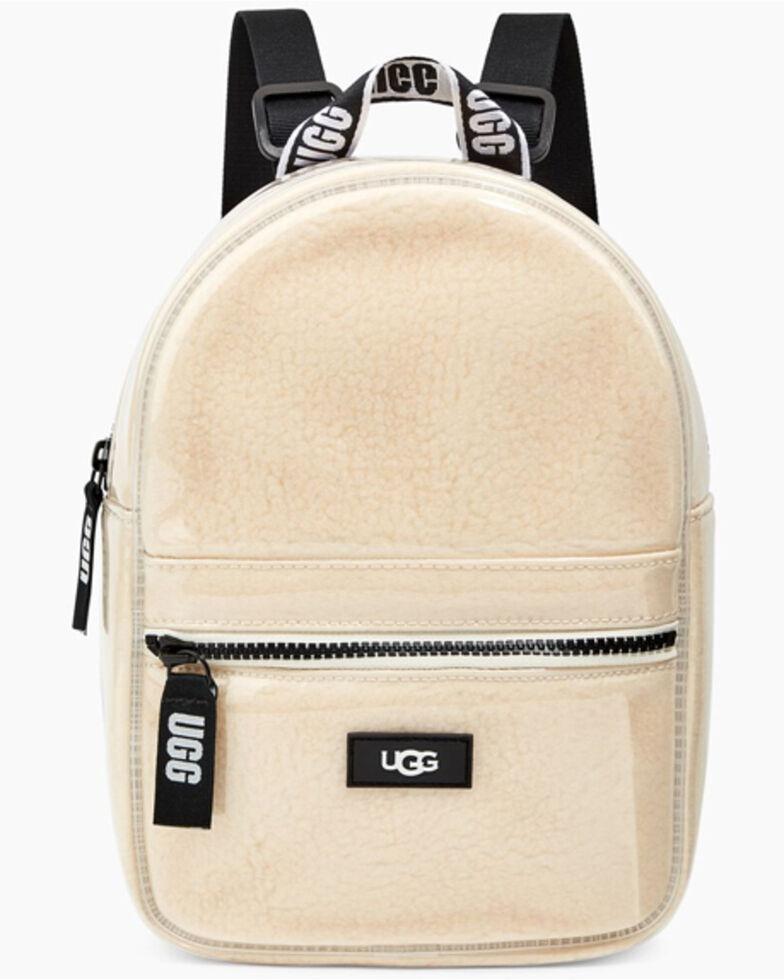 UGG Women's Dannie Clear Mini Backpack, Natural, hi-res