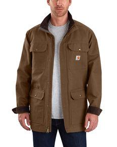 Carhartt Men's Field Coat - Tall, Chocolate, hi-res