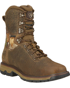Ariat Men's Conquest H2O Waterproof 400g Insulated Hunting Boots, Brown, hi-res