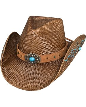 Bullhide Women's Amnesia Straw Hat, Brown, hi-res