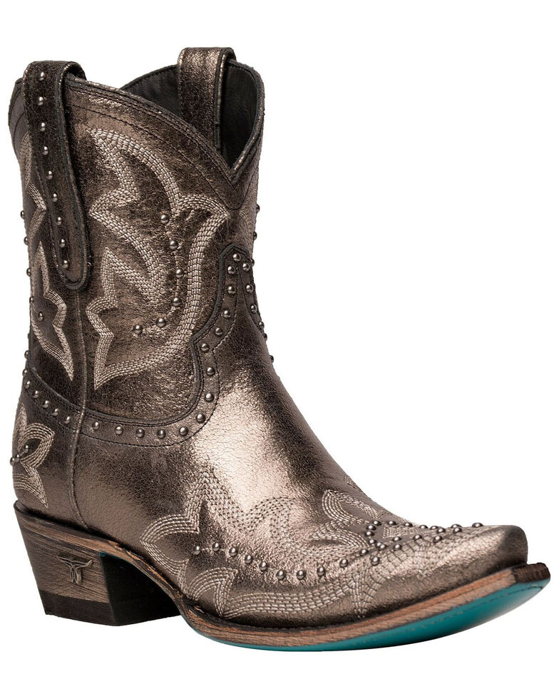 Lane Women's Saratoga Studded Western Boots - Snip Toe, Multi, hi-res