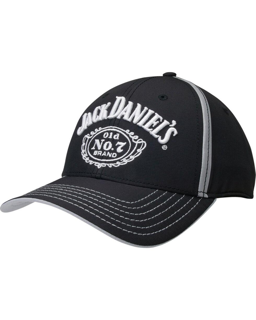 Jack Daniel's Men's Black Logo Cap, Black, hi-res
