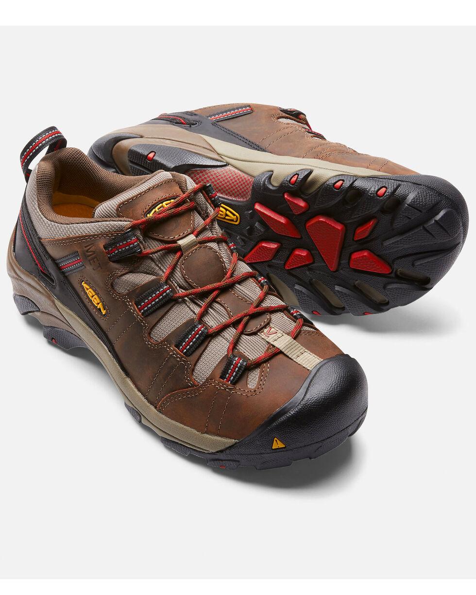 Keen Men's Detroit Low Internal Met Guard Work Shoes - Steel Toe, , hi-res