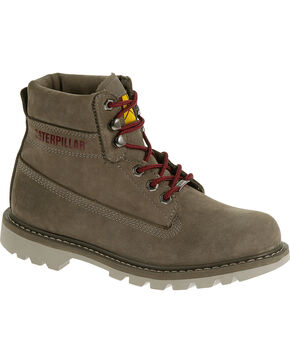 """Caterpillar Women's Watershed Waterproof 6"""" Work Boots, Brown, hi-res"""