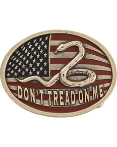 Cody James® Don't Tread On Me Belt Buckle, Multi, hi-res