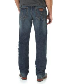 Wrangler Retro Men's Limited Edition Slim Straight Jeans, Denim, hi-res