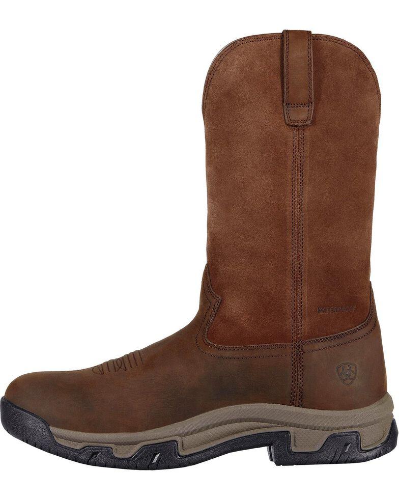 Ariat Men's Terrain H2O Work Boots, Distressed, hi-res