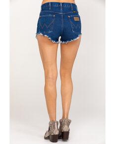 Wrangler Modern Women's Dark Wash Heritage Shorts, Blue, hi-res