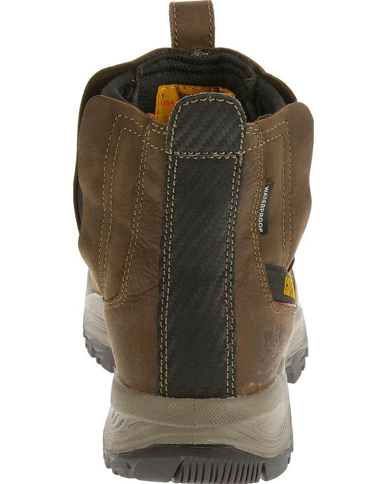 Caterpillar Men's Brown Jointer Waterproof Work Boots - Composite Toe , Grey, hi-res