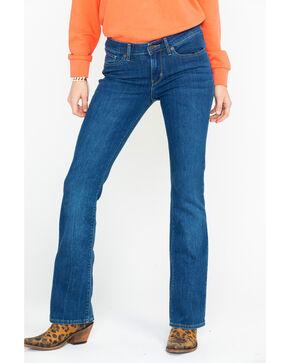 Levi's Women's 715 Vintage Release Mid Rise Boot Jeans , Blue, hi-res
