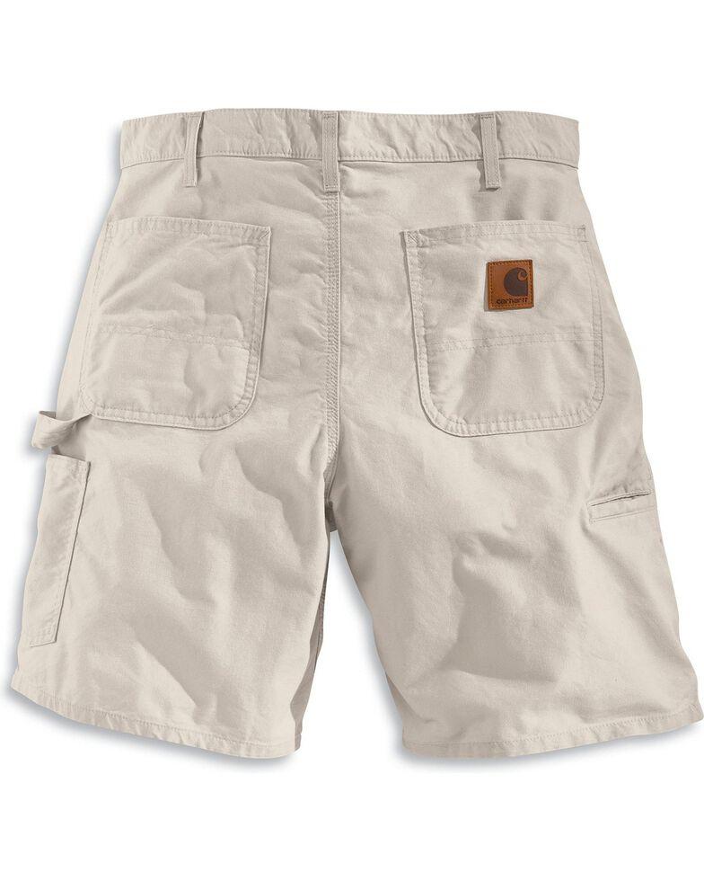 Carhartt Men's Work Shorts, Putty, hi-res