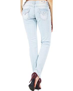 Grace in LA Women's Skinny Denim Jeans, Indigo, hi-res