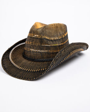 Cody James Youth Boys' Saddle Up Hat, Brown, hi-res