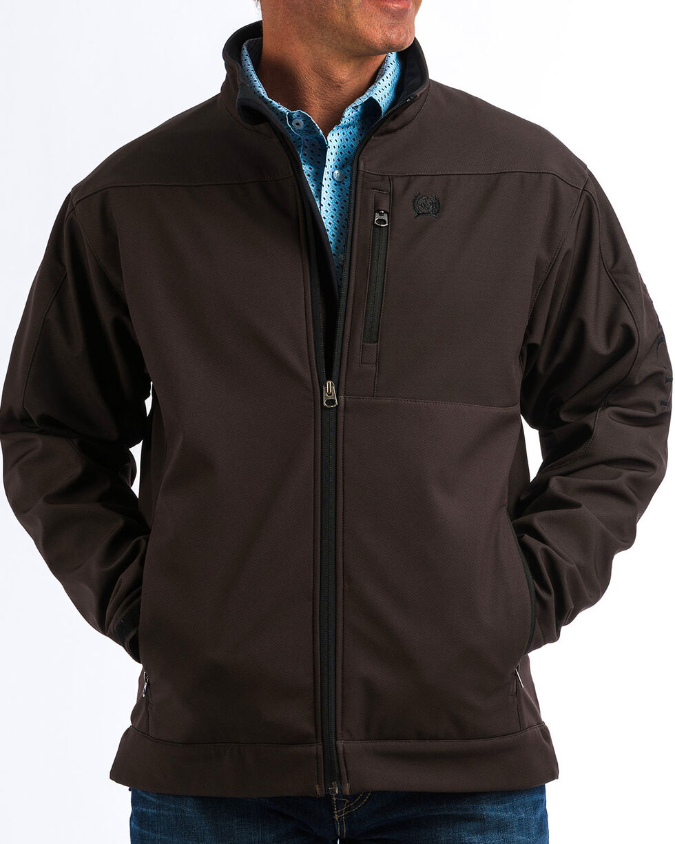 Cinch Men's Brown Bonded Jacket - Big, Brown, hi-res