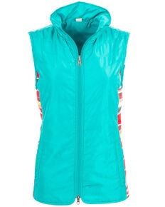 STS Ranchwear Women's Gracie Vest - Plus, Teal, hi-res