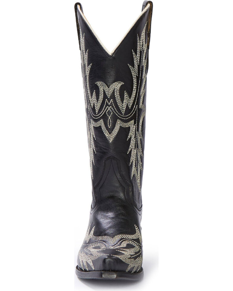2431d46d1e9 Stetson Women's Tina Flame Pita Embroidery Western Boots - Snip Toe