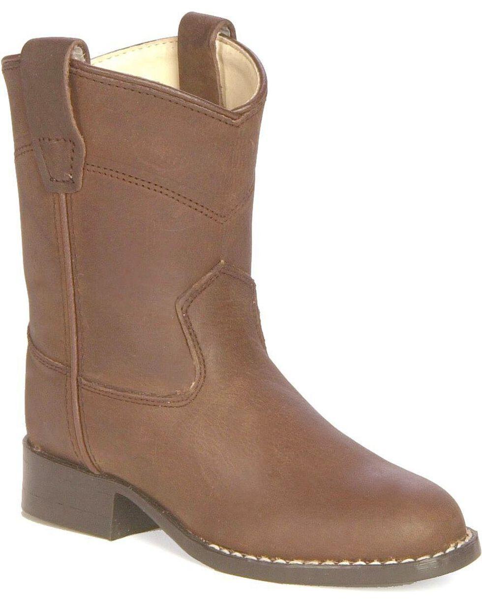 Jama Children's Roper Boots, Distressed, hi-res