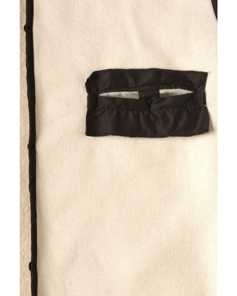 Outback Unisex Wool Button In Liner, Natural, hi-res