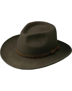Outback Unisex Water Resistant UPF Tassy Crusher High Country Hat, Serpent, hi-res
