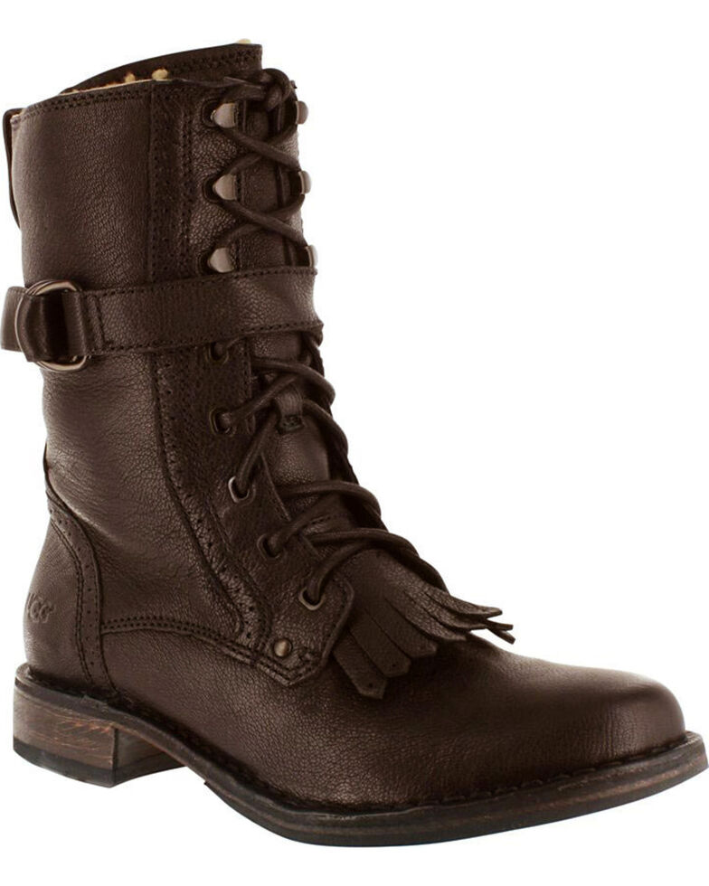 UGG® Women's Jena Fashion Boots, Dark Brown, hi-res